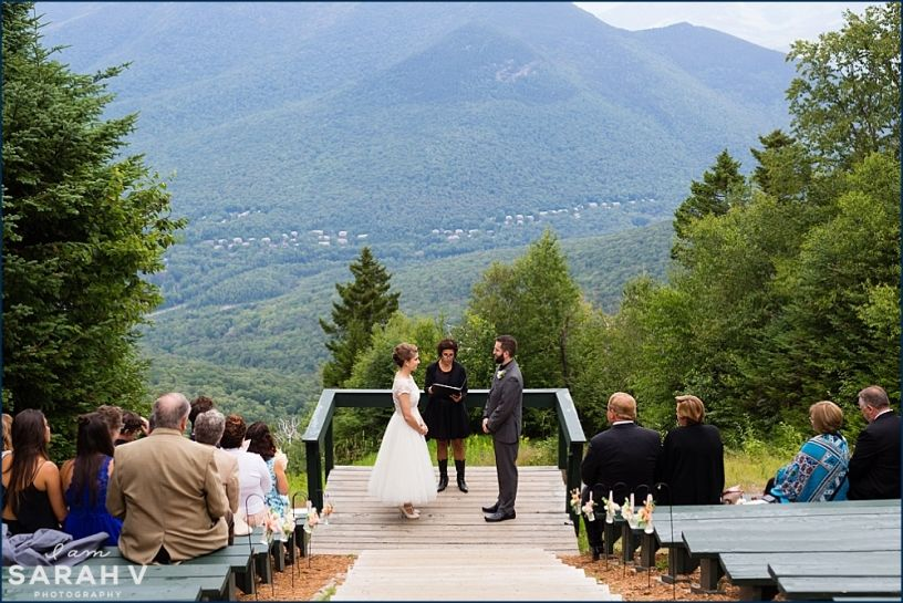 Loon Mountain Resort Wedding Lincoln New Hampshire I Am Sarah V Photography