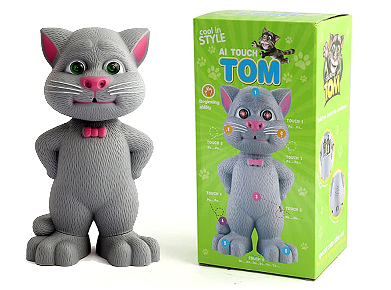 Material plastic Voice recording The talking tom cat