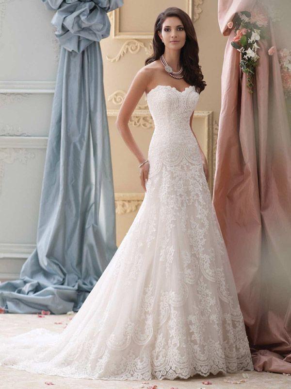 Die Mon Cheri Brautkleider Kollektion 2016 von David Tutera auf ...