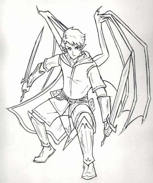 16 Drawing Anime Characters Full Body Photos