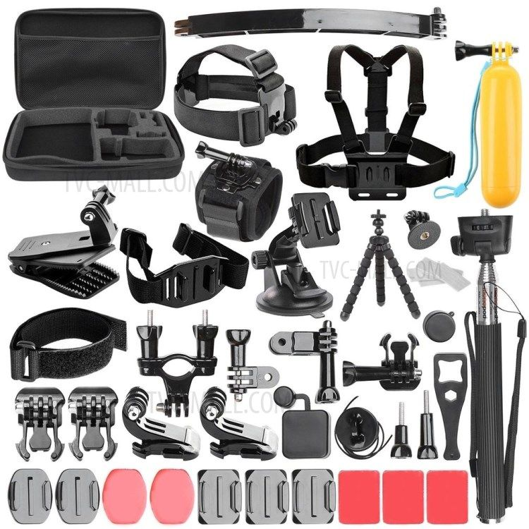Sports Action Camera Accessories Set Action Camera Accessories Action Camera Gopro Accessories