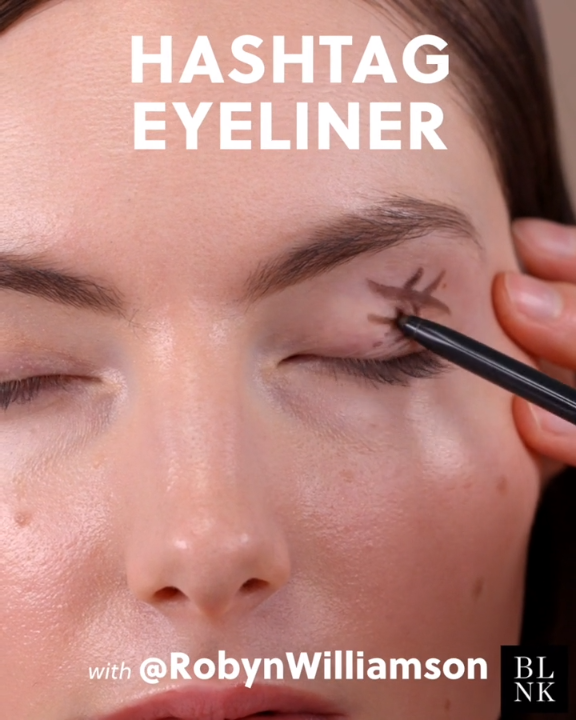 Photo of The easiest smokey eye hack in the book #hashtageyeliner #hashtagmakeup #makeuph…