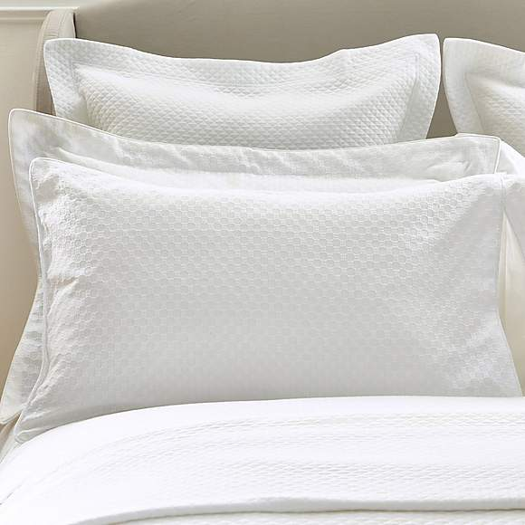 Pillow Cases Pair of Waffle Cotton