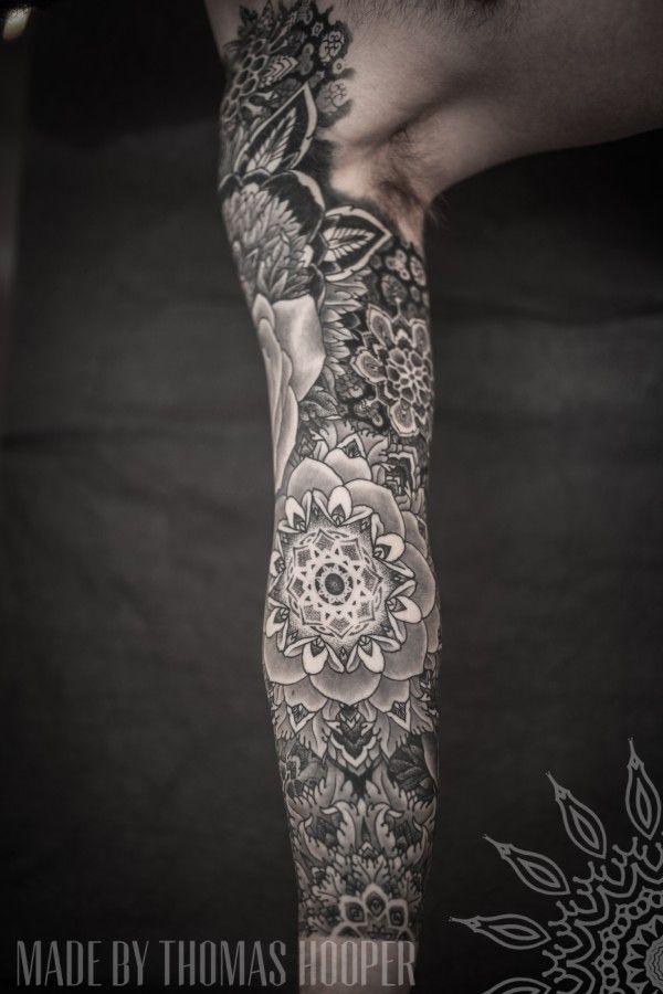 Conheça+a+arte+do+pontilhismo+do+tatuador+Thomas+Hooper+|+Tinta+na+Pele