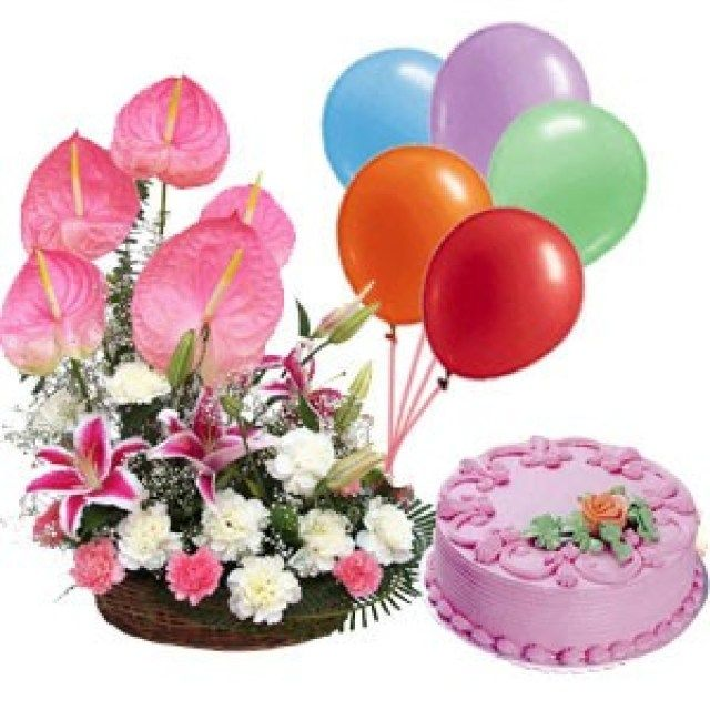 21 Brilliant Picture Of Exotic Birthday Cakes 11 Floral Photo DiyBirthdayCake