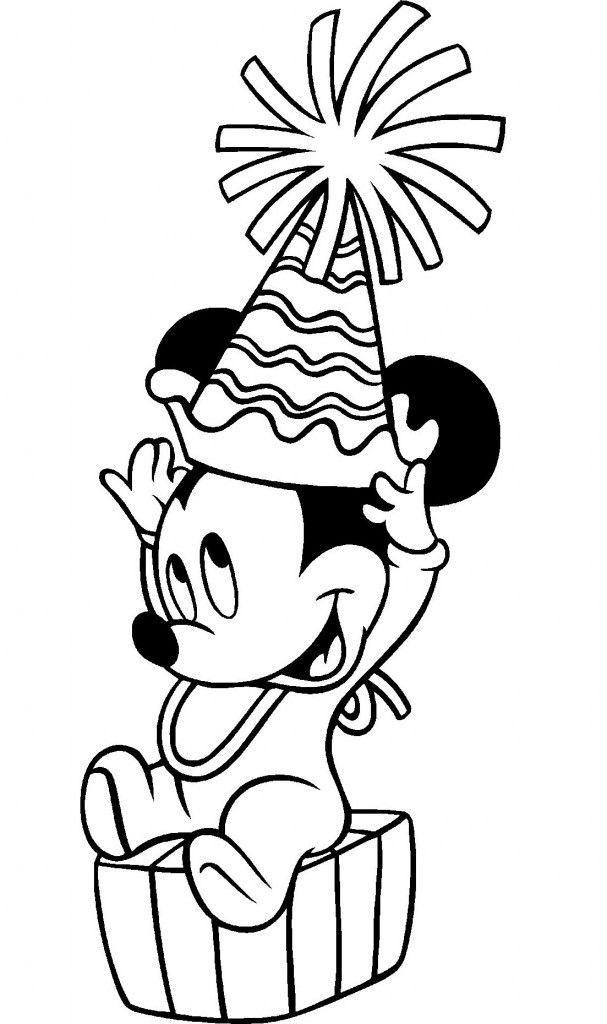 Free Printable Mickey Mouse Coloring Pages For Kids Mickey Mouse Coloring  Pages, Birthday Coloring Pages, Disney Coloring Pages