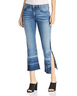 e417dc0113b507 PARKER SMITH OFFBEAT CROPPED FLARE JEANS IN OCEAN CURRENT. #parkersmith  #cloth #