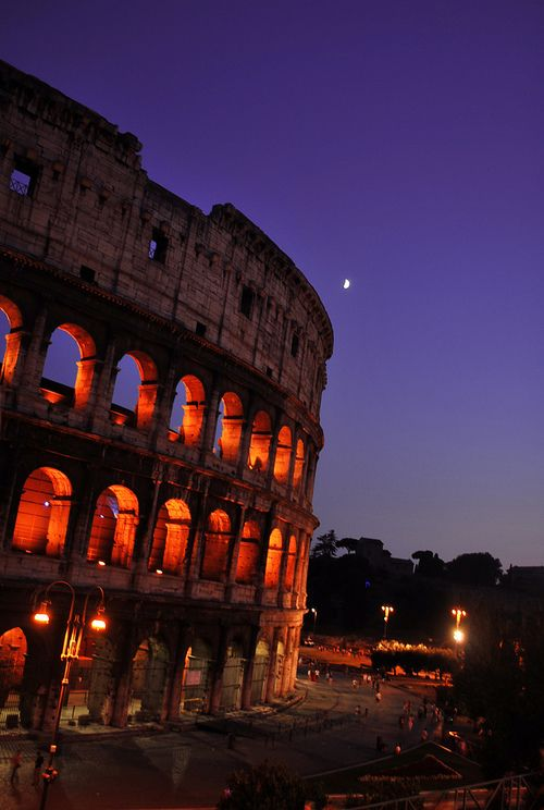 go to Roma. -done