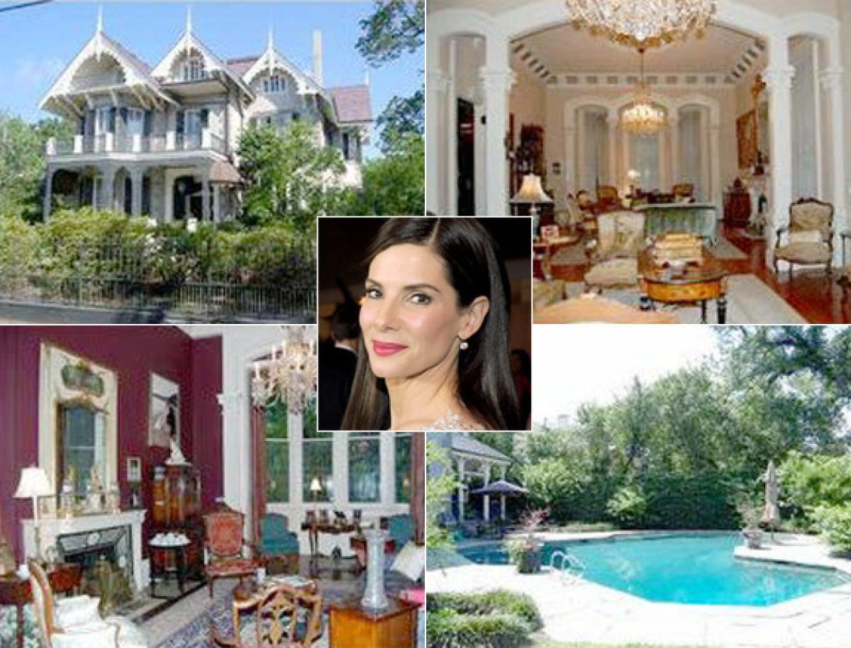 Celebrity Homes - Slide 22 Sandra Bullock Moldings And