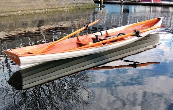Annapolis Wherry: 18-foot Lapstrake Recreational Rowing Shell That You Can Build! | Wooden Boat ...