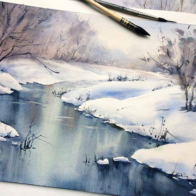 Watercolorist Tonyashe Waterblog Akvarel Aquarelle