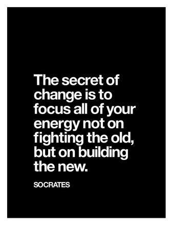 'The Secret of Change (Socrates)' Giclee Print - Brett Wilson | Art.com