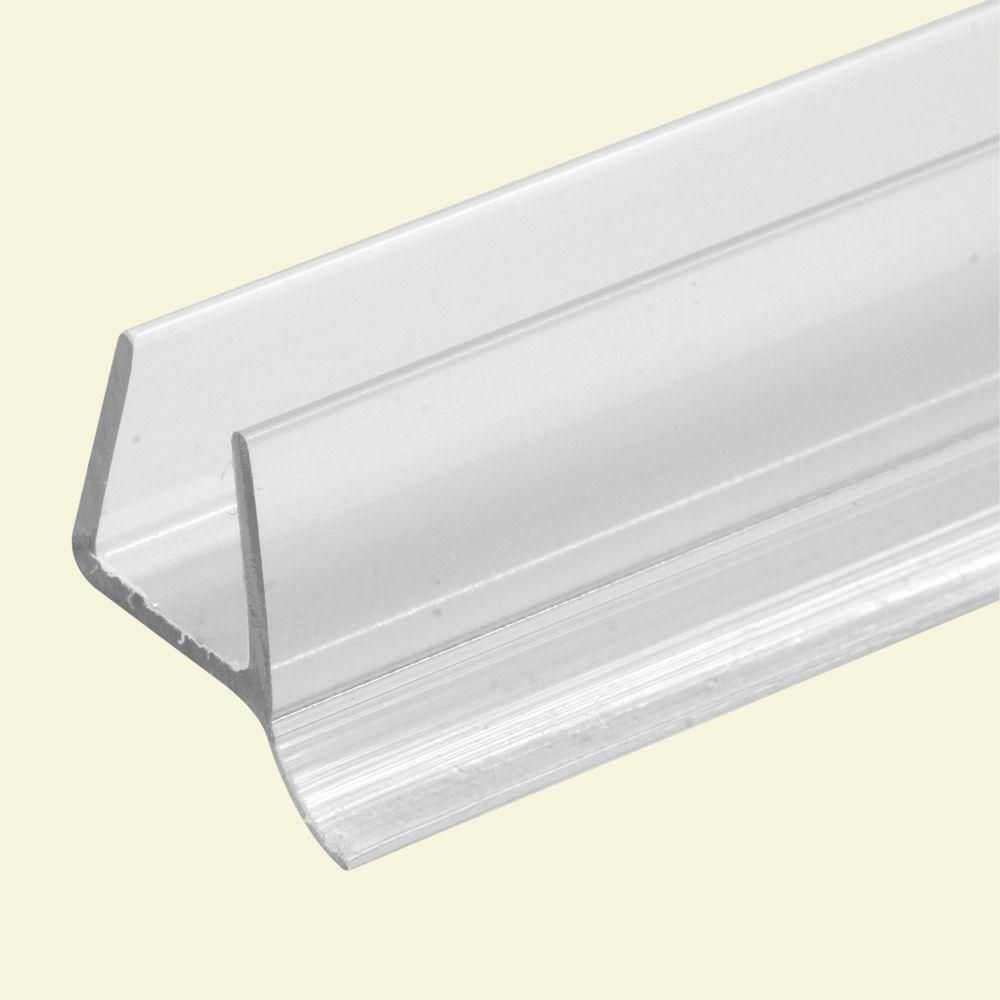 Prime Line 3 8 In X 36 In Frameless Shower Door Bottom Seal M 6264 1 In 2020 Frameless Shower Doors Shower Doors Frameless Shower
