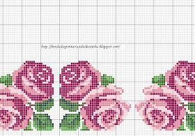 Olá Amigas,   Aqui estão os gráficos que eu fiz para um caminho de mesa.   Parte1:   Parte 2:  Parte 3:  Parte 4:  Parte 5:  Parte 6:  Parte...