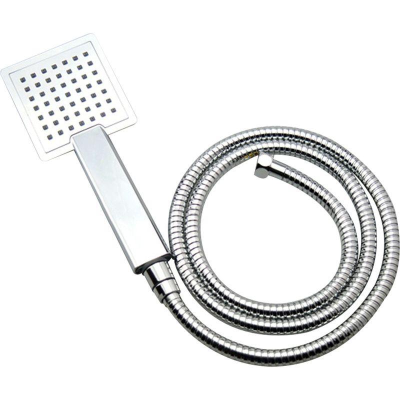 Handheld Square Shower Head w/ Shower Hose Chrome | Buy Handheld ...