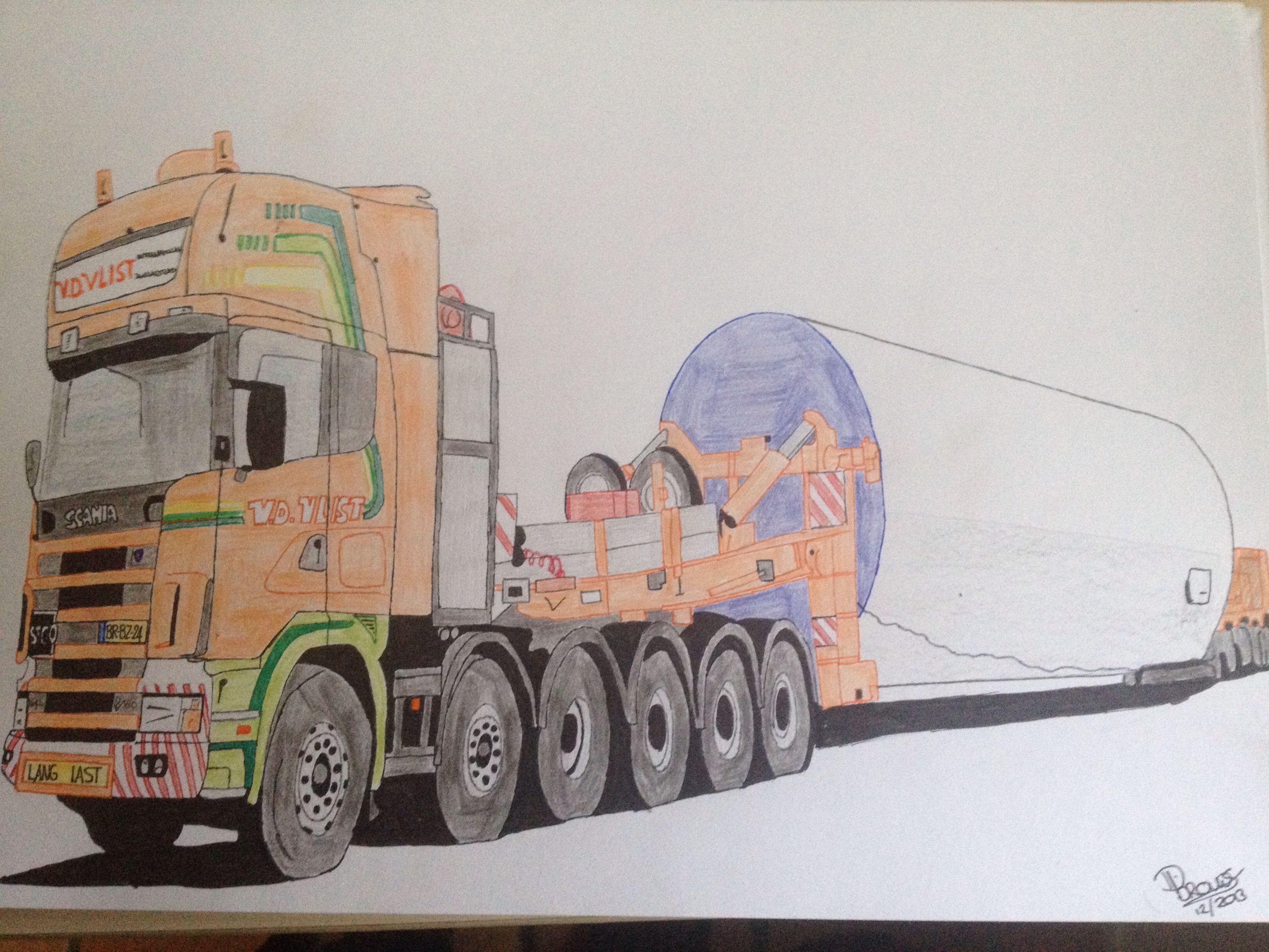 Scania Windmill Transport Vd Vlist