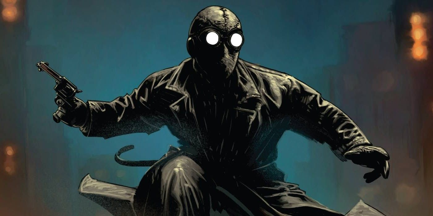 15 Reasons Why Everyone Loves Spider-Man Noir: Spider-Man Noir shoots organic webs out of his hands!