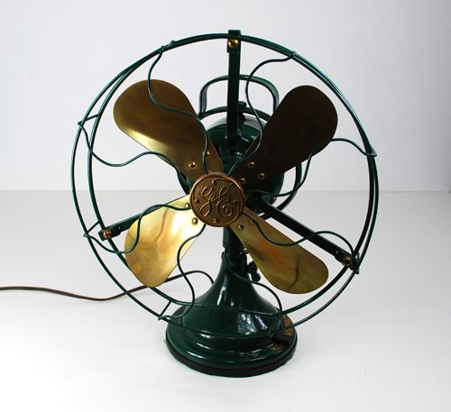 old GE desk fan. It's how the room was cooled when I was a child - Old GE Desk Fan. It's How The Room Was Cooled When I Was A Child. We