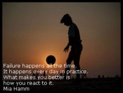 Soccer Quotes For Girls That Your Daughter Can Use And ...  |Mia Hamm Soccer Quotes