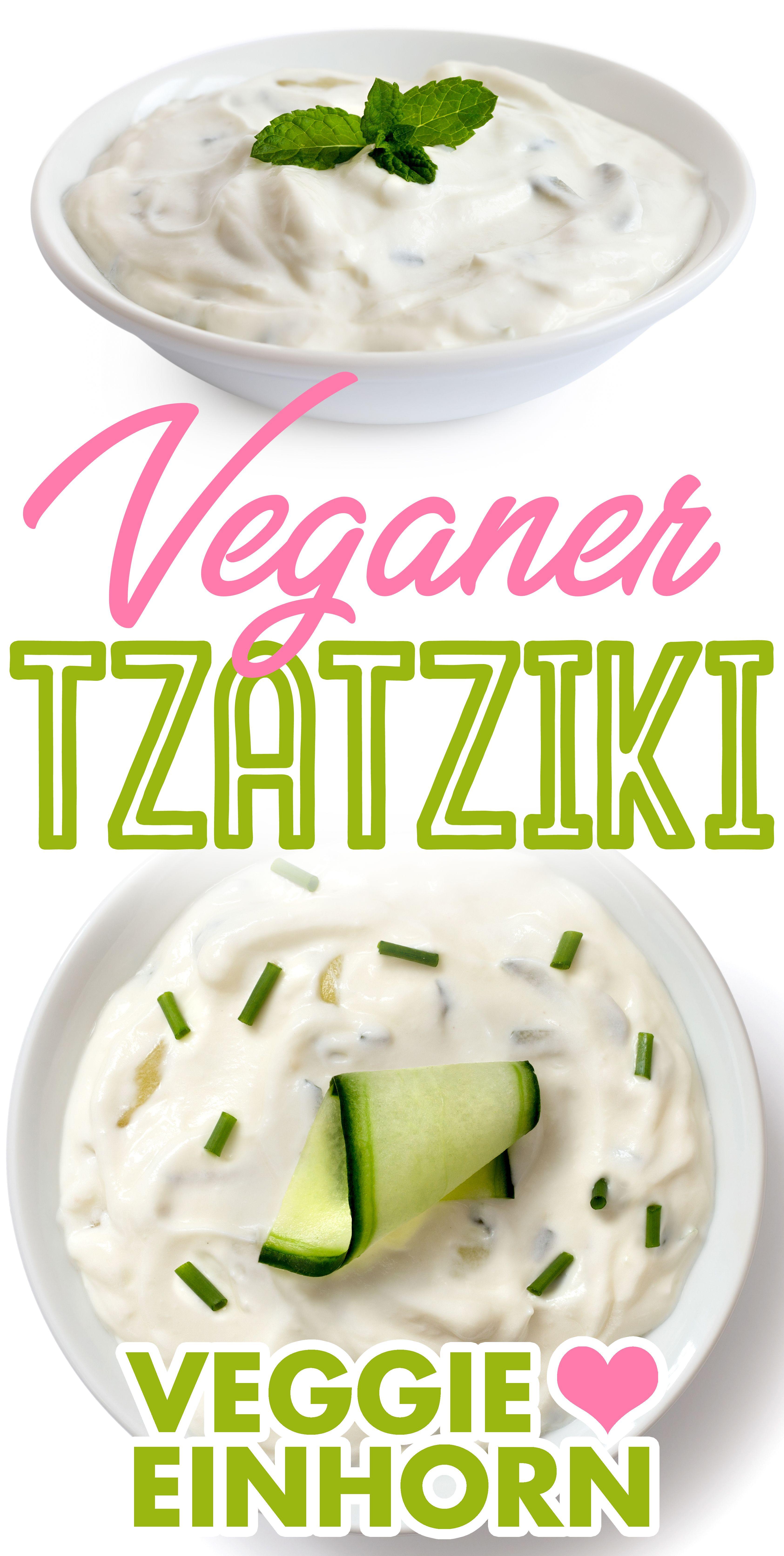 Veganer Tzatziki | Veggie Einhorn