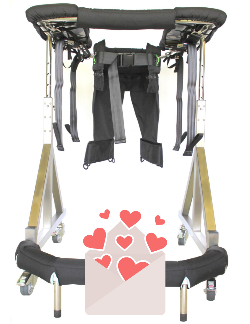 The Second Step Gait Harness System is helping people walk again in