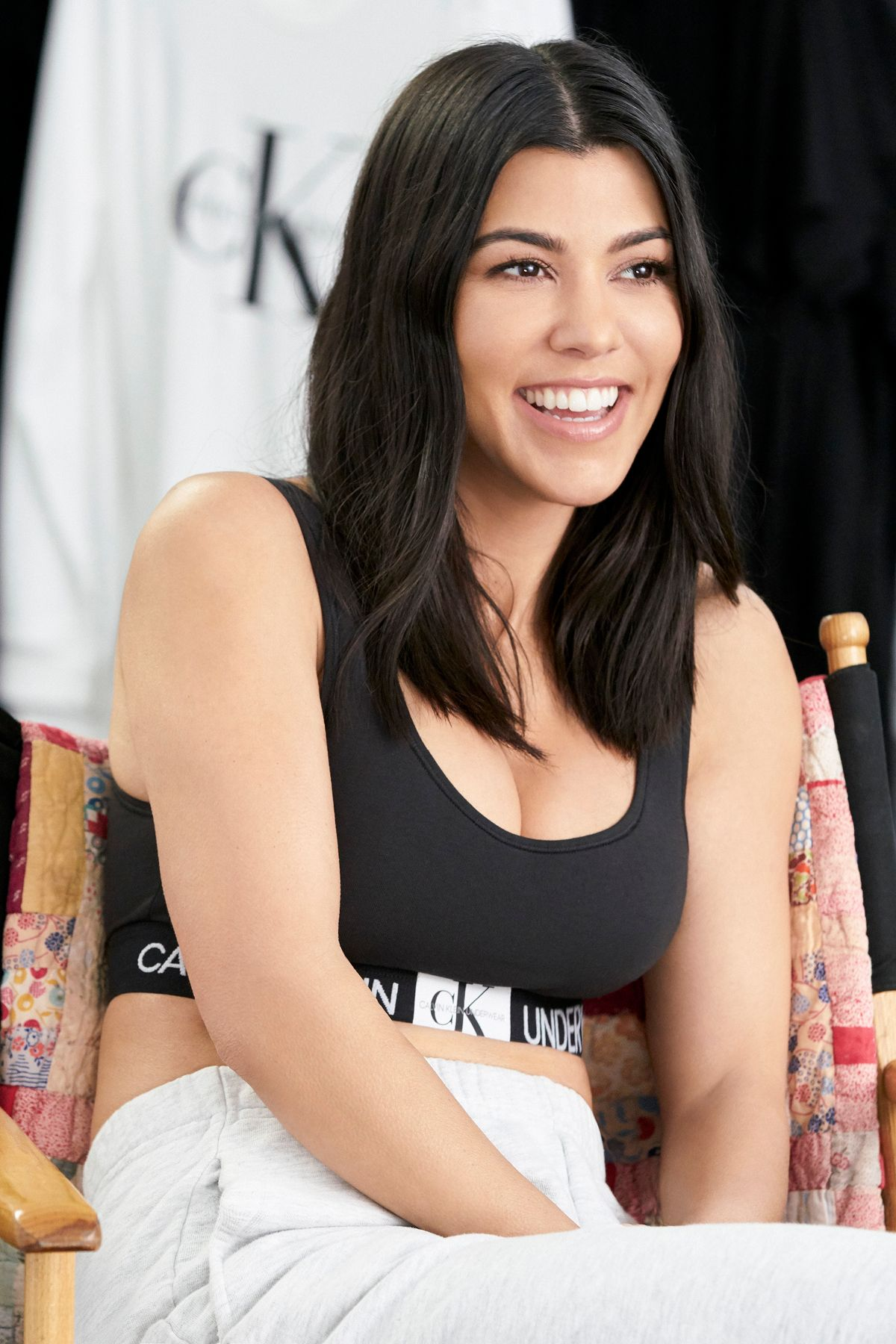 ca8ccf9210 Kourtney Kardashian knows family is forever. Discover her look from CALVIN  KLEIN UNDERWEAR s new Monogram collection. Join Our Family.  MYCALVINS
