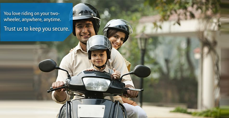 Buy Two Wheeler Insurance In 4 Easy Steps Bajaj Allianz Provides