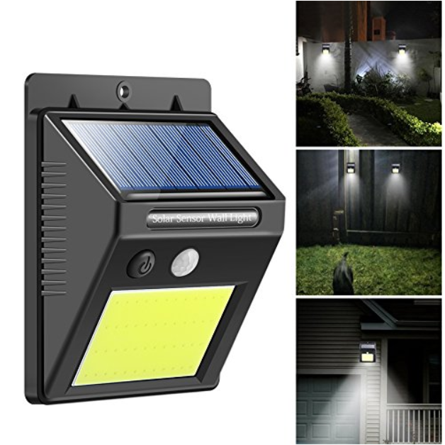 48 Cob Super Bright Solar Sensor Light Security Lights Solar Powered Lights Light Sensor