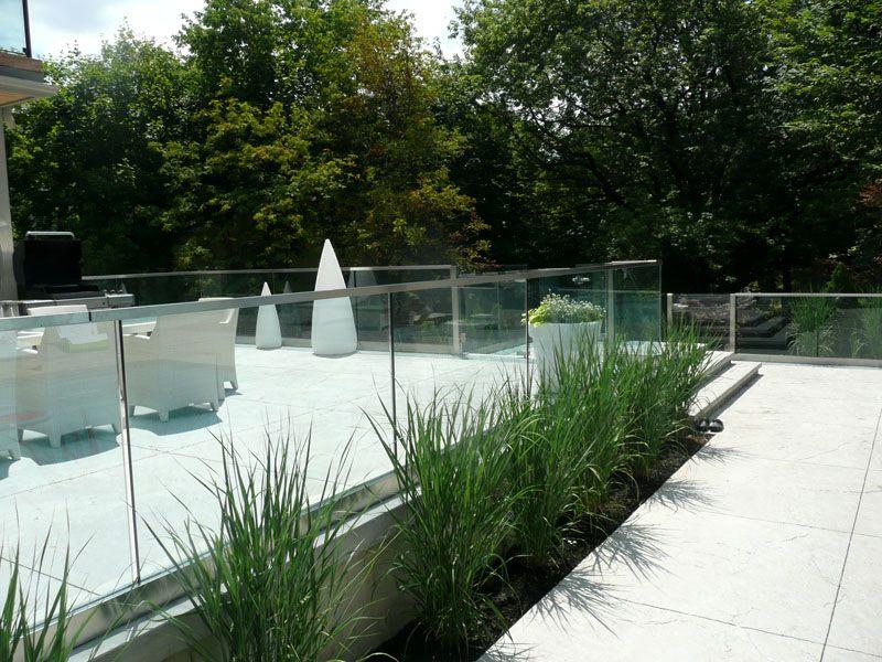 Outside Glass Railing (G-RL17) #decor #interior #interiordesign #homedesign #homestyle #homewares #interiorinspiration #cbdglass