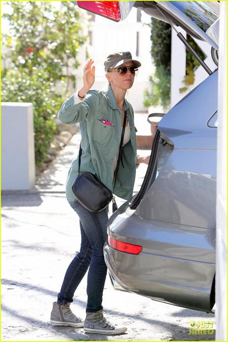 Actress Naomi Watts spotted wearing ASH