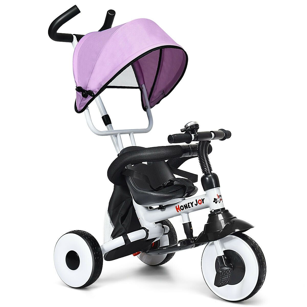 4in1 Kids Baby Stroller Tricycle Detachable Learning Toy
