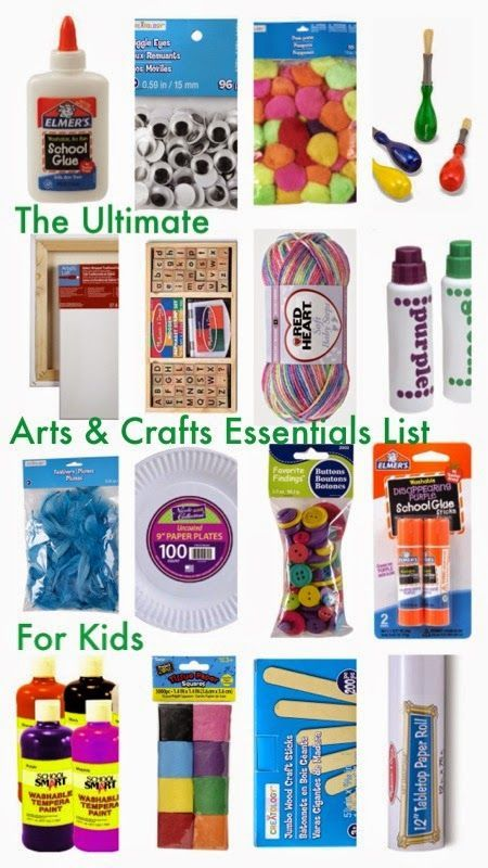 Art Supplies Ultimate Arts Crafts Supply List