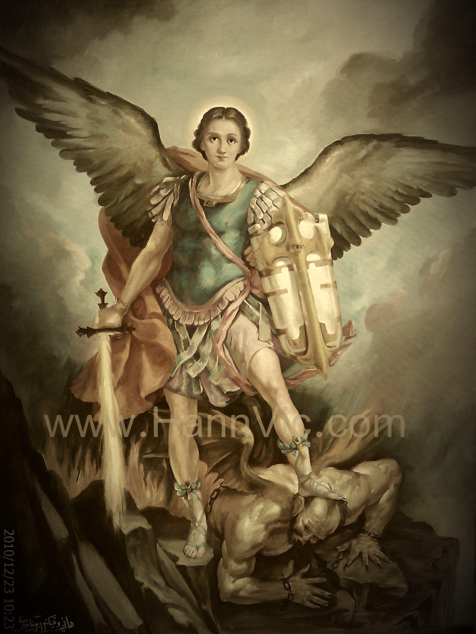 как выглядит архангел михаил фото ласточка