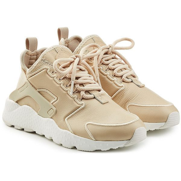 timeless design 6ccc6 55e51 Nike Air Hurarache Sneakers ( 169) ❤ liked on Polyvore featuring shoes,  sneakers, beige, nike shoes, nike sneakers, beige shoes, chunky shoes and  nike ...
