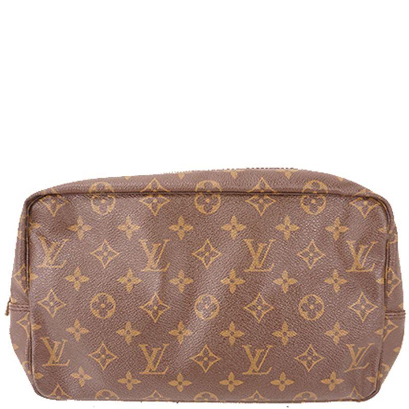 Pre Owned Louis Vuitton Monogram Canvas True Wallet In Brown Modesens Louis Vuitton Monogram Louis Vuitton True Wallet