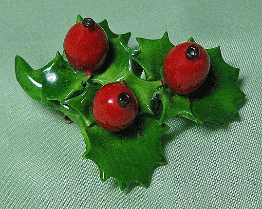 Holly Leaves and Berries Cara China Staffordshire England
