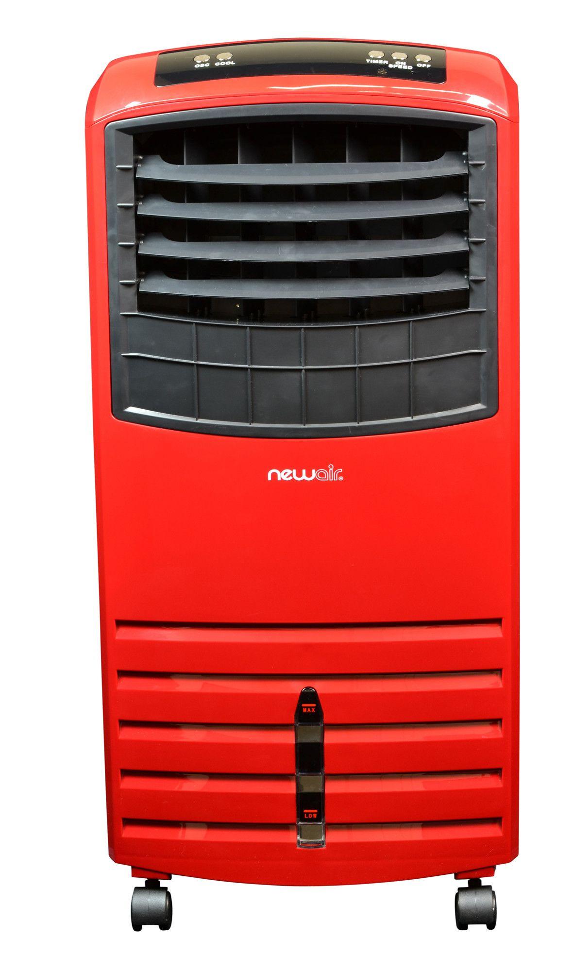 Portable Evaporative Cooler with Remote Evaporative