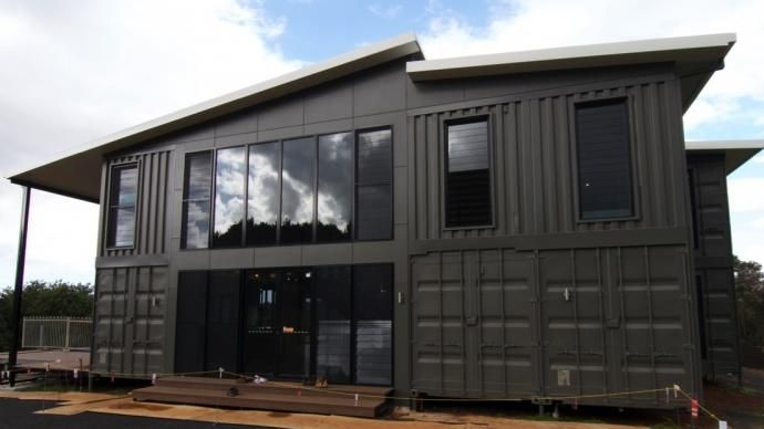 The lindendale luxury shipping container home by container build group container houses and Build your own container home