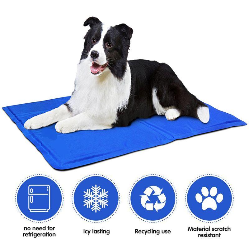 Factory Supply Cool Gel Pet Mat For Dog Cat Manufacturer Factory Wholesale Supplier Pet Cooling Mat Pet Mat Cool Dog Beds