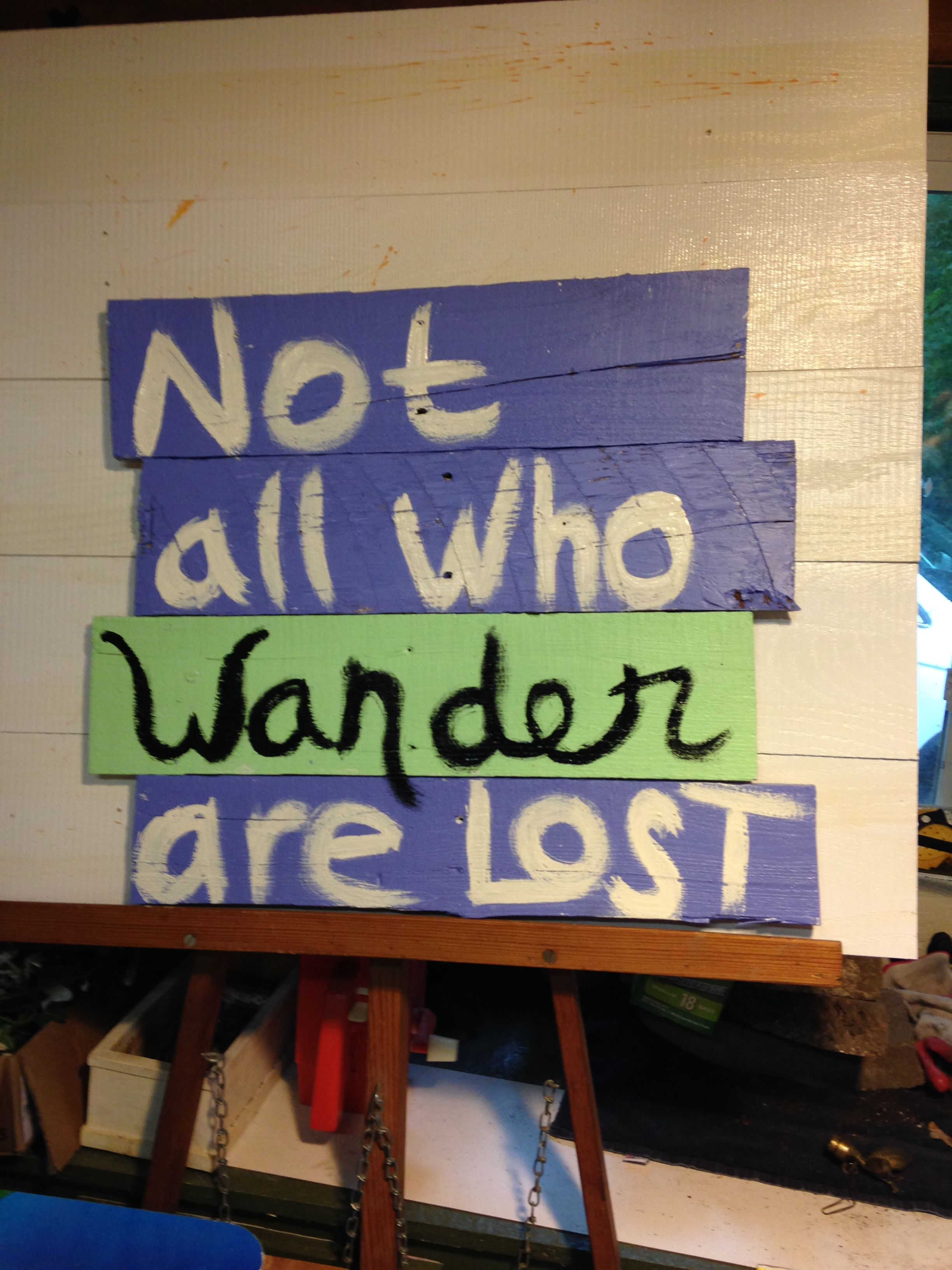 Pin by Abby Herrington on Quotes | Wood pallet signs, Wood ...