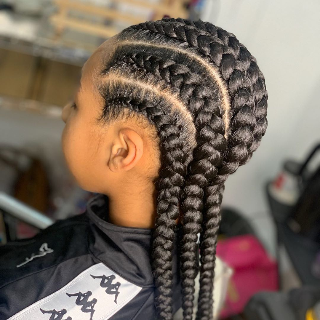 Cutest Hairstyles For Little Black Girls Little Girls Hairstyles African American Girls Hairstyles Kids Hairstyles Hair Styles Black Kids Braids Hairstyles