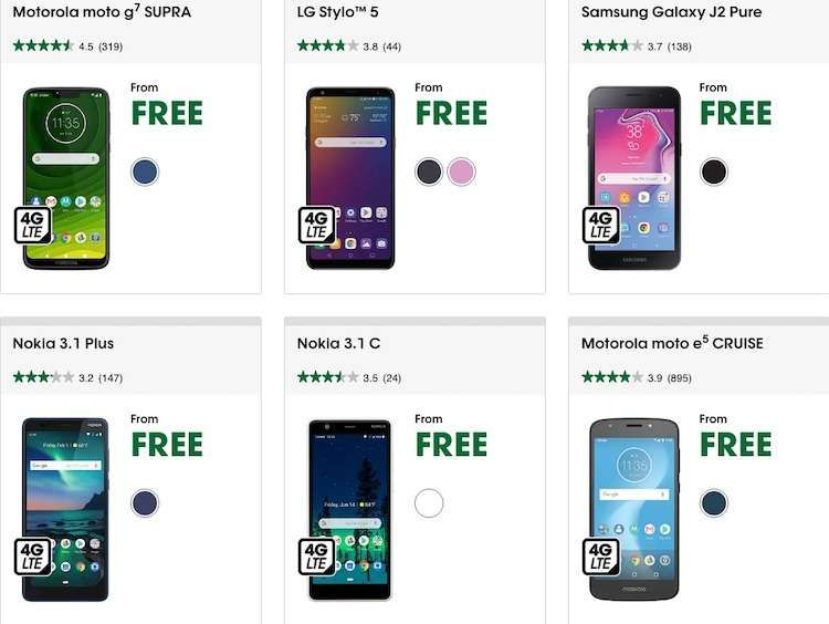 10 Deals Of Free Phones When You Switch Operator 2020 Phone