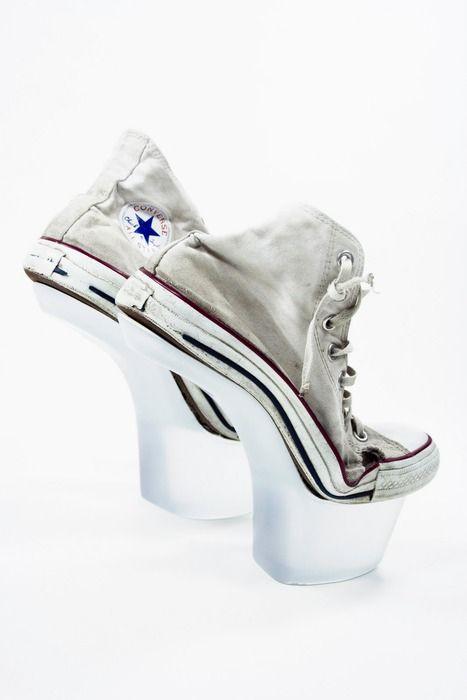Heels, Converse high heels, Converse