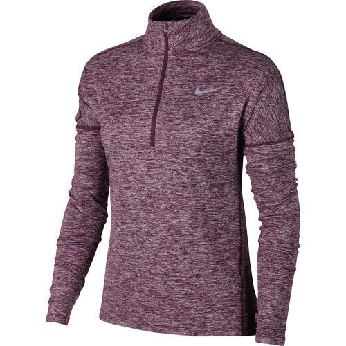 Nike Women's Element 1/2 Zip Pullover Top (Grey Dark 02, Size Large) -  Women's Athletic Apparel, Women's Running Tops at Academy Sports |  Pullover, Zip and ...