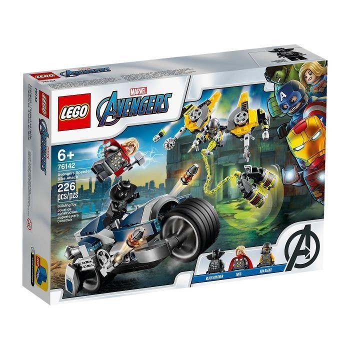 LEGO Marvel Avengers Captain America figure from set 76143 NEW