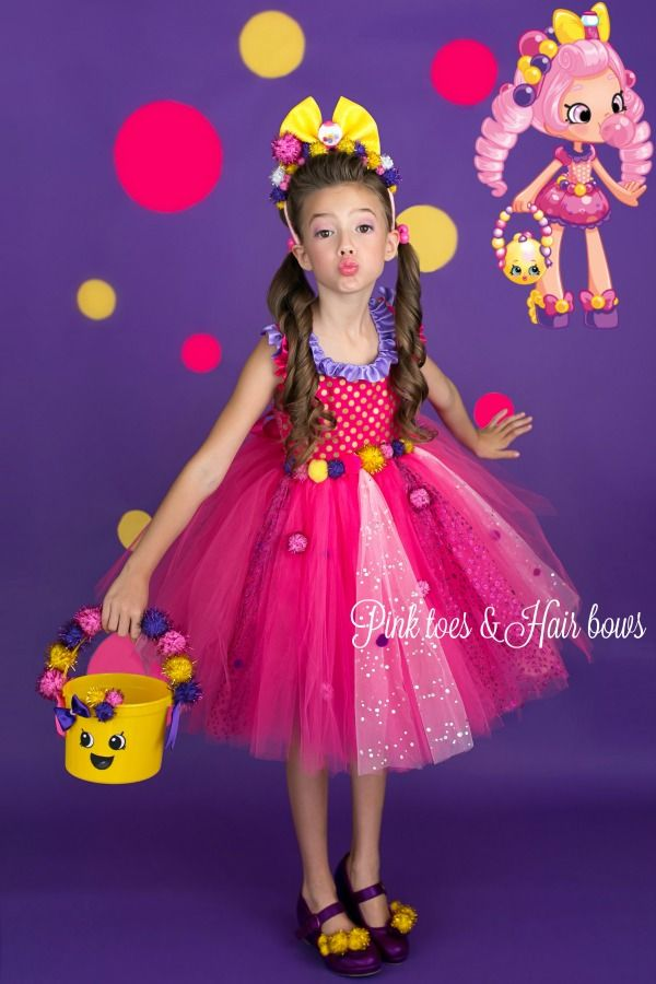 Bubbleisha Tutu Dress | Shopkins & Shoppie Dolls | Pinterest | Tutu ...