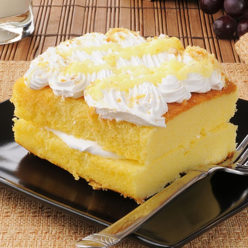 This Yellow Cake Recipe Uses A Lot Of Eggs And Is A More Dense