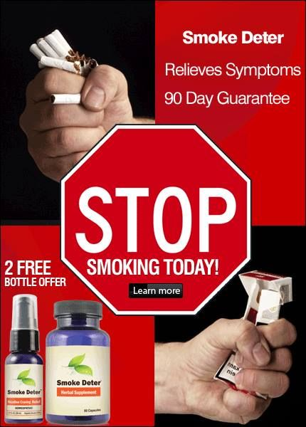 Smoke Deter Is Designed To Relieve Multiple Symptoms And Can Be