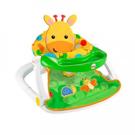 Fisher Price Sit Me Up Floor Seat With Tray Comes In A Giraffe