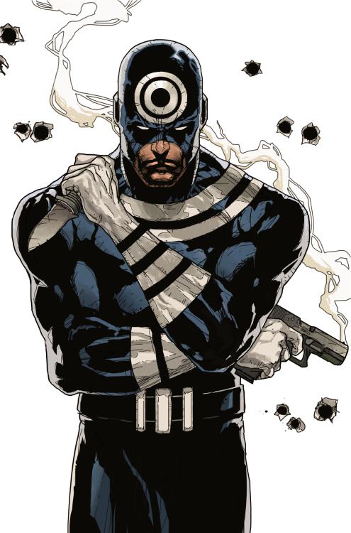 Bullseye Dave Seguin Daredevil Comic Marvel Comic Character Marvel Comic Universe